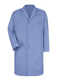 healthcare apparel - blue lab coats