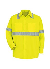industrial workwear - hi visibility work shirts - front