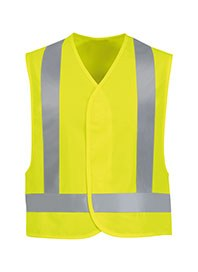 industrial workwear - hi visibility safety vest