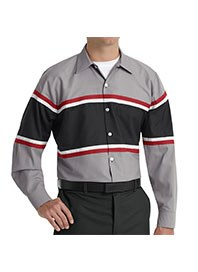 automotive workwear - mitsubishi technician long sleeve shirt