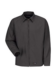 mens zipup jacket - black