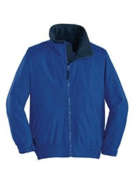 ladies zipup jacket - blue