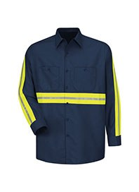 industrial uniforms - hi visibility work shirts