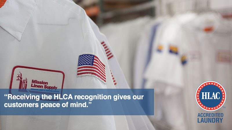 Mission Linen Supply's Lancaster Facility Receives Prestigious Accreditation