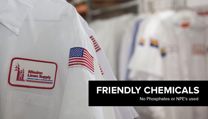 Mission Linen - Environmental Friendly Chemicals