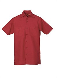 mens professional workshirts red