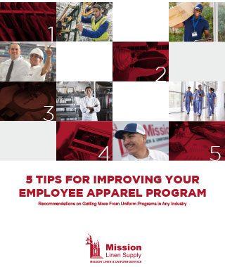 Mission Linen Uniform Services Employee Apparel Program