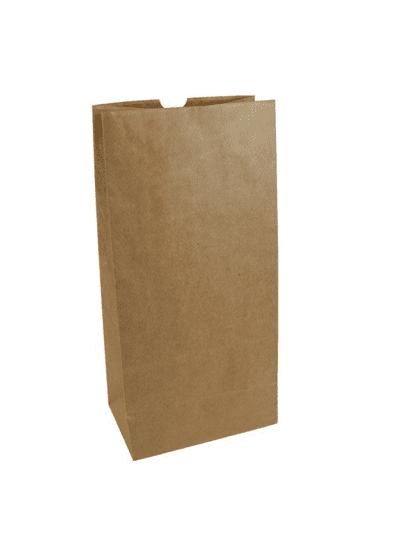 Disposable Dinnerware brown paper bags