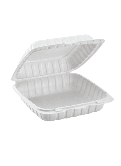 Disposable Dinnerware clamshell packaging