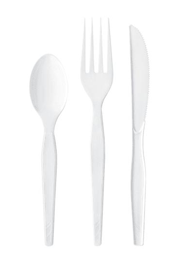 Disposable Dinnerware single use plastic cutlery