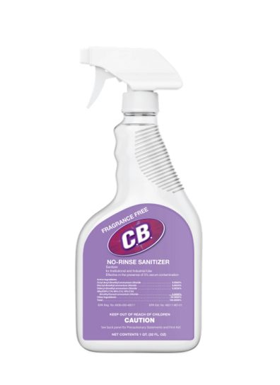 cleaning supplies RTG sanitizer spray