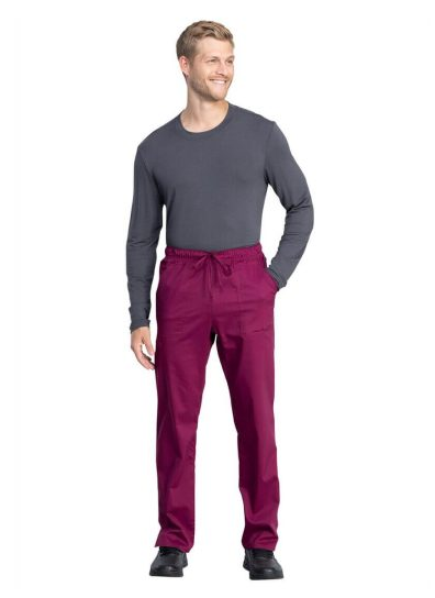 mens medical scrub pants