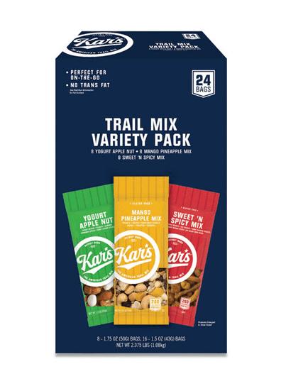 snacks trailmix varietypk